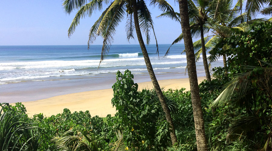 Infinity Surfcamp Sri Lanka - Location