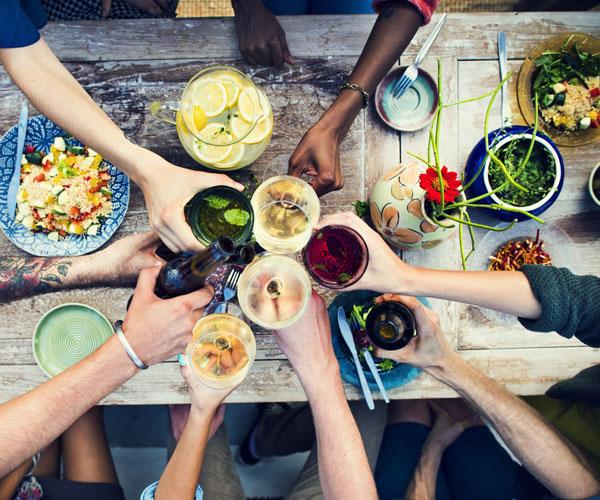 Infinity Surfcamp Sri Lanka - Essen und Trinken
